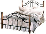 Hillsdale Winsloh Bed Set With Rails, Queen
