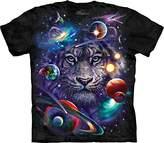 The Mountain Men's White Tiger Cosmos T-Shirt