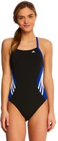 adidas Solid Splice Vortex Back One Piece Swimsuit 8141852
