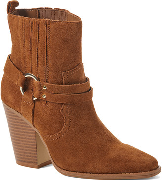 Aldo Women's Casual boots COGNAC - Cognac Brends Leather Ankle Boot - Women