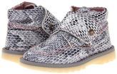 Pablosky Kids 0184 (Toddler) (White/Pink/Grey) - Footwear