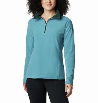 Columbia Women's Glacial IV Half Zip Soft Fleece with Classic Fit