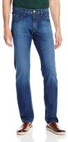 Agave Men's Pragmatist Classic Straight 5 Pocket Zip Fly Jeans in Sandspit
