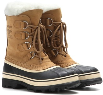 Sorel CaribouA leather and rubber boots