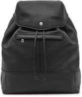 Reiss Bash GRAINED LEATHER BACKPACK