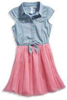 GUESS Girl Lila Two-Fer Dress (4-16)