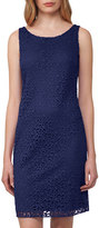 Akris Sleeveless Lace Shift Dress, Blue