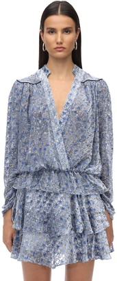 Zadig & Voltaire Printed Sheer Velour Shirt