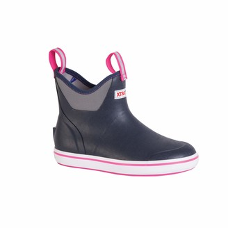 """XTRATUF Performance Series 6"""" Women's Full Rubber Ankle Deck Boots"""