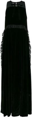 Rochas Long Silk Dress