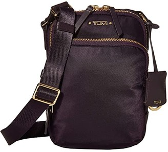 Tumi Voyageur Ruma Crossbody (Blackberry) Handbags