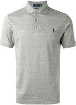 Polo Ralph Lauren embroidered logo polo shirt - men - Cotton - L