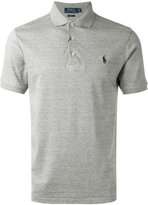 Polo Ralph Lauren embroidered logo polo shirt - men - Cotton - S