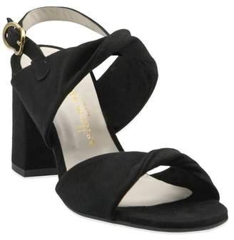 Bettye Muller Angel Suede Block Heel Sandal