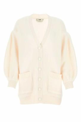 Fendi V-Neck Knitted Cardigan