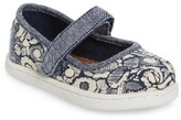 Toms Infant Girl's Floral Camo Mary Jane