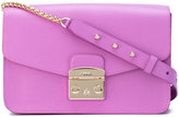 Furla studded chain strap bag - women - Leather - One Size