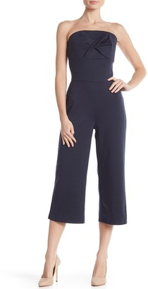 Material Girl Strapless Twist Front Jumpsuit