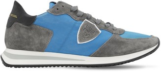 Philippe Model TRPX SUEDE & NYLON SNEAKERS