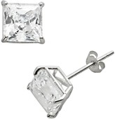 Swarovski Renaissance Collection 10k White Gold 1 4/5-ct. T.W. Cubic Zirconia Stud Earrings - Made with Zirconia