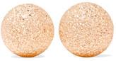 Carolina Bucci Florentine 18-karat Rose Gold Earrings - one size