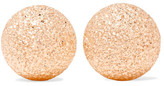 Carolina Bucci Florentine 18-karat Rose Gold Earrings