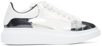 Alexander McQueen White Plexi Larry Sneakers