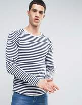ONLY & SONS Long Sleeve T-Shirt With Raglan Sleeves In Stripe