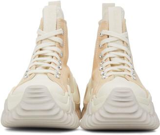 Converse Beige Run Star Motion High Sneakers