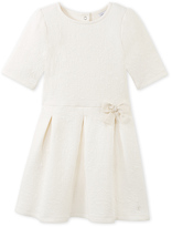 Petit Bateau Girls quilted dress
