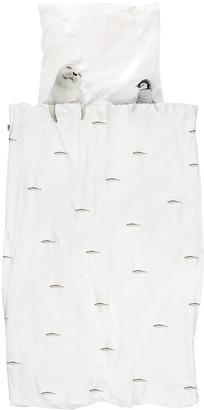Snurk Fish Cotton Duvet Cover Set For Crib
