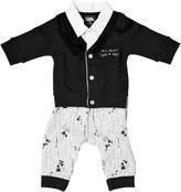 Karl Lagerfeld Cotton Interlock Cardigan & Pants