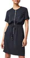Warehouse Casual Utility Dress, Navy