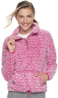 So Juniors' Sherpa 1/4-Zip Jacket