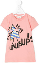 Fendi star print T-shirt