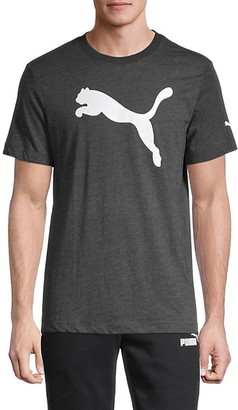Puma Graphic Logo Cotton-Blend Tee