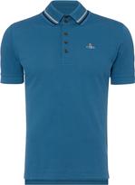Vivienne Westwood Krall Piquet Polo Shirt Blue Size XL