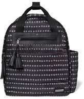 Skip Hop SKIP*HOP® Riverside Dot Ultra Light Backpack Diaper Bag in Black