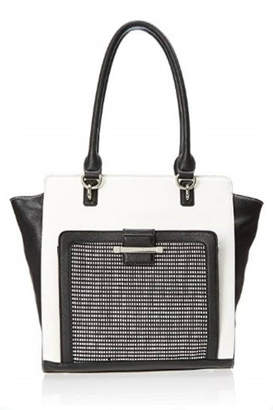 Nine West Nw Black/white Tote