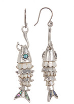 Lucky Brand Fish Hook Earrings