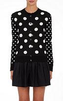Marc Jacobs Women's Polka Dot Cotton Cardigan