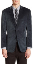 U.S. Polo Assn. Grey Corduroy Two Button Notch Lapel Jacket
