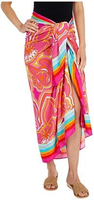 Trina Turk 25th Anniversary - Morning Sunrise Pareo Swimsuit Cover-Up (Multi) Women's Swimwear
