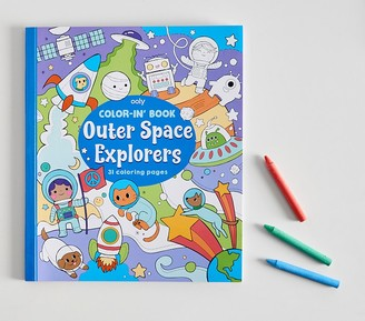 Pottery Barn Kids Outer Space Explorers Coloring Book