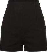 Essentials Bi-Stretch Cotton High Waist Shorts