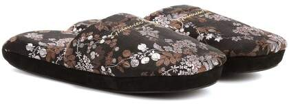 Gianvito Rossi Exlusive to mytheresa.com – jacquard slippers