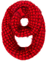 Dorothy Perkins Red and wine fluffy snood
