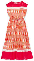 Speechless Chevron Print Maxi Dress - Girls 7-16
