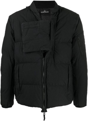 Stone Island Shadow Project Real Down Blouson Jacket