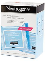Neutrogena Make Up Removing Wipes, 100 Cleansing Towelettes